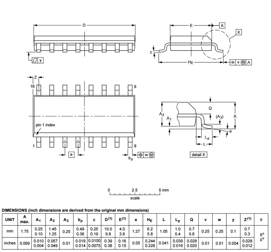 Integrated Circuits Digital Cmos Hc 084065069 Micros 74hc147 Wiring Diagram Info Dim Drawing