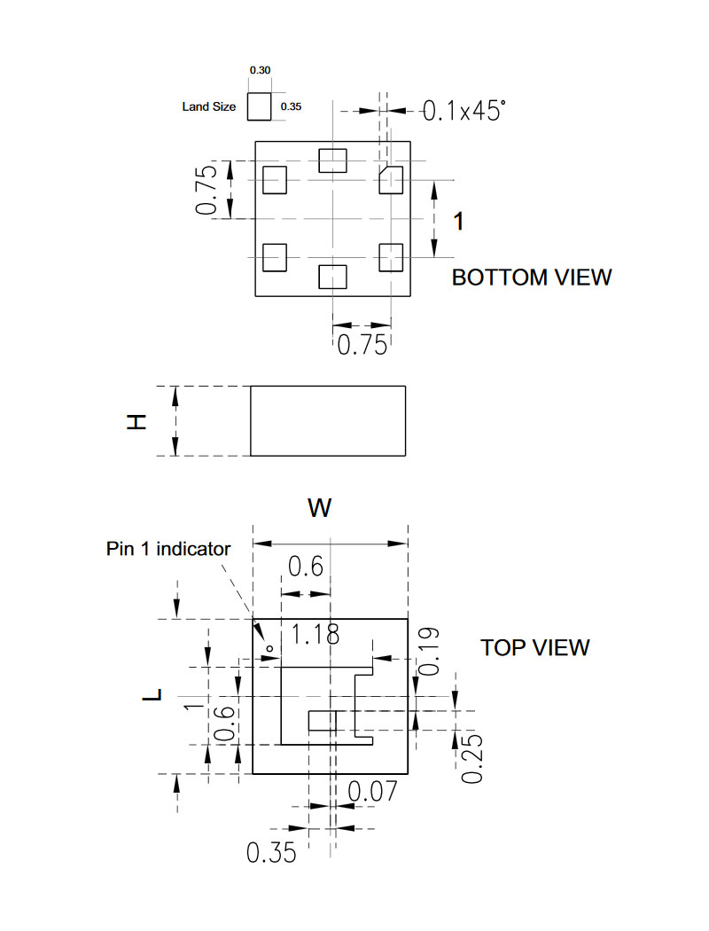 Integrated Circuits Sensors And Transducers 089077 Micros Packagedintegratedcircuit1jpg Info Dim Drawing