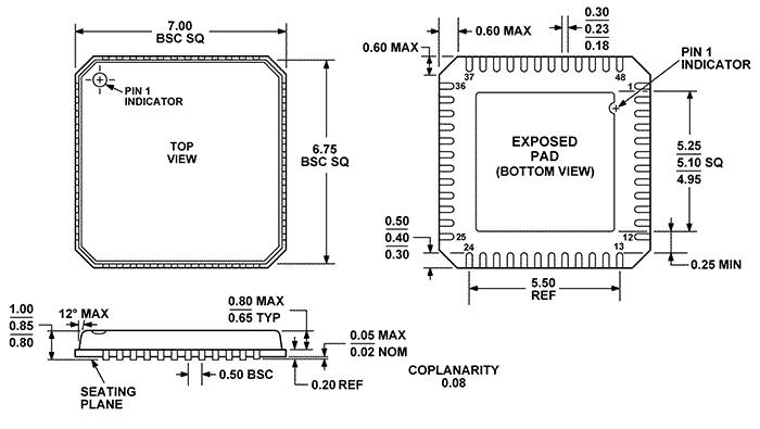 adf7021bcpz - rf  rfid circuits