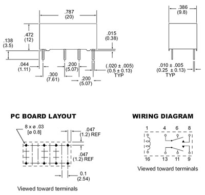Groovy Signal Relays Relpol Zettler Wholesale Electronic Components Wiring 101 Vihapipaaccommodationcom