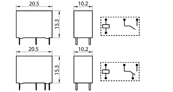 hf33f  024-zs  jzc-33f  power relay