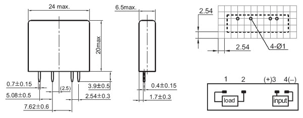 Relays Solid State Relays Power Module085066 Micros