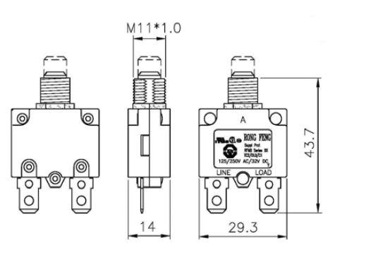 cricuit breaker  10a  rfmb - circuit breakers